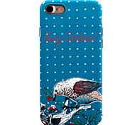 Para Diseños Funda Cubierta Trasera Funda Animal Dura Policarbonato para AppleiPhone 7 Plus / iPhone 7 / iPhone 6s Plus/6 Plus / iPhone