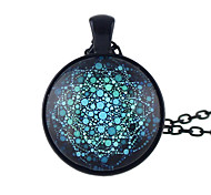 New Design Ethnic Pattern Long Pendant Necklaces Jewelry