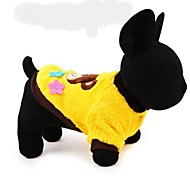 Keep Warm Lovely Bear Patterns Pet Coat