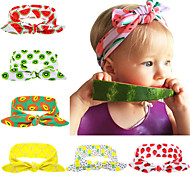 Pineapple bow headwrap Top knot headband Child turban Baby fashion pineapple bows Fruit headwrap Grils top knots