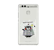 For Huawei P9 P9 Lite  P8 P8lite Pattern Case Back Cover Case Cartoon Soft TPU for P9 Plus P9 Mini Max P7 Honor 6 Honor 6 Plus Honor 4C