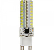 7W E14 / G9 / G4 / E12 / E17 / E11 LED-maïslampen T 152 SMD 3014 600 lm Warm wit / Koel wit Decoratief AC 220-240 / AC 110-130 V 1 stuks