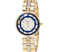 Women's Fashion Watch Wrist watch / Quartz Stainless Steel Band Elegant Cool Casual Gold Strap Watch