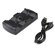 2-in-1 Controller Charging Dock Station for PS3 Move
