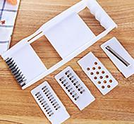 Multifunctional Shredder  Shredded Potatoes Slice  Peeler Plane Scale Scraping Device  Kitchen Gadget Kit  (Random Colour)