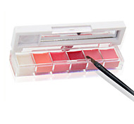 Lip Gloss Cream Coloured gloss 6 Color YCID