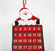 календарь Рождество Санта-Клаус календарь 30 * 40см