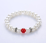 Imitation Pearl Spacers Bracelet The European And American Fashion Original Manual System Of A Single String