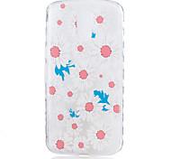 For Motorola Moto G4 Plus Case Cover Chrysanthemum Flower Pattern Back Cover Soft TPU G4