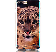 For Blu-Ray Pattern Case Back Cover Case  Leopard Pattern Soft TPU for Apple iPhone 7 Plus / iPhone 7 / iPhone 6s Plus/6 Plus / iPhone 6s/6