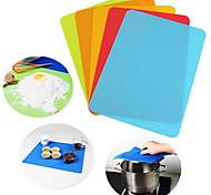 Bakeware Non-stick Silicone Baking Rolling Pastry Mat silica Gel Pad(Random Color)