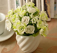 1 1 Branch Plastic / Others Roses / Others / Plants Tabletop Flower Artificial Flowers