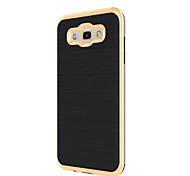 For Samsung Galaxy J7 (2016) J5 Dustproof Case Back Cover Case Wiredrawing Hard PC J7 J5 (2016) J3 (2016) J1 (2016) J1 J2 J3