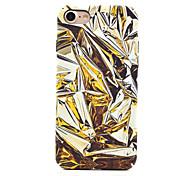 Per Fosforescente / Fantasia/disegno Custodia Custodia posteriore Custodia Geometrica Resistente PC per AppleiPhone 7 Plus / iPhone 7 /