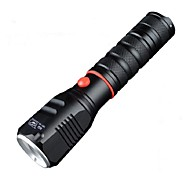SS-760 Aluminum Alloy LED Charging Q5 Square Head High-Power Long-Range Adjustable Focus Flashlight