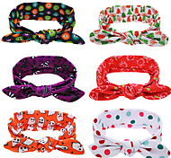 6 pcs/setChristmas Baby Headbands XMS Girls Hair Accessories Decoration