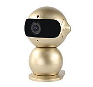 YanSe® 1.3MP Robot Mini Night Vision Baby Monitor HD WiFi Indoor Cute IP Camera (Remote Access / Plug and play)