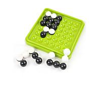 Juego de Mesa / Juguete Educativo / Laberintos y Juegos de Lógica Juegos y Puzles Juguetes Circular / Cuadrado ABS Cyan / Blanco / Negro