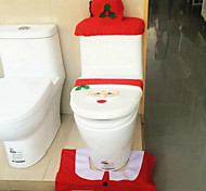 Santa Claus Toilet Cover  MATS  The Tank Cover  Tissue Boxes