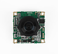 FPV Fish-eye Camera CCTV HD Wide-angle Sensor 360-degree 5MP Camera NTSC/RC Camera/Video Drones Black 1 Piece