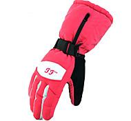 Ski Gloves Full-finger Gloves Women's Men's Activity/ Sports Gloves Snowproof Gloves Ski & Snowboard Polyester Winter