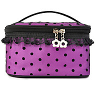 Makeup Storage Cosmetic Bag / Makeup Storage Nylon Solid 18*11.5*10 Purple