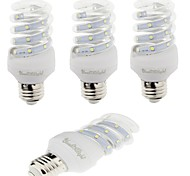 YouOKLight 4PCS E27 5W 420lm  Warm White/White Light  12 SMD 2835 LED Corn Lamps (AC 220V)