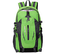 45 L Hiking & Backpacking Pack Camping & Hiking Outdoor Waterproof / Wearable / Breathable Green / Red / Blue / Orange Nylon