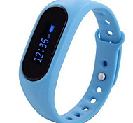 Pulsera Smart iOS AndroidResistente al Agua Long Standby Podómetros Atención de Salud Deportes Monitor de Pulso Cardiaco Despertador