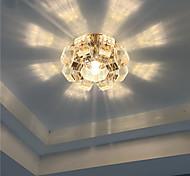 Luces de Techo Blanco Cálido / Blanco Fresco Cristal / LED / Mini Estilo / Bombilla Incluida 1 pieza