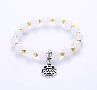 Herrn Damen Paar Strang-Armbänder Yoga-Armband Gold Edelstein Gold Schmuck Für Party Halloween Geburtstag Normal 1 Stück
