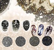 1set Manicure Pearl Crystal Pearl Sand Tiny Elf Nail Art Decoration
