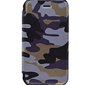 Per A portafoglio / Porta-carte di credito Custodia Integrale Custodia Mimetico Resistente Similpelle per AppleiPhone 7 Plus / iPhone 7 /