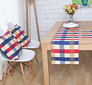 Rectangular Patterned / Floral Table Runner , Cotton Blend Material Hotel Dining Table / Table Decoration