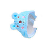Dog Hair Accessories Blue Dog Clothes Spring/Fall Solid Cute