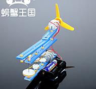 Crab Kingdom  Model Assembled DIY Handmade DIY Shaking His Head Fan Small Fan Material Bag
