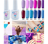 Fashing Purple color Blue color UV&LED Lamp Gel Polish Color Gel Nail Gel Nail Polish