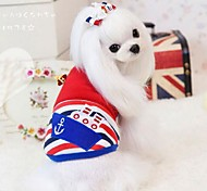 Keep Warm Exquisite Sailor Patterns Pet Coat