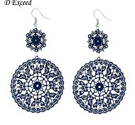 Hot Sale Brand New Design Bohemia Hollow Out Sunflowers Dangle Earrings for Women Christmas Gift (EH0196)
