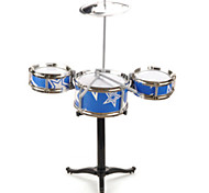 BLUE CHILDREN WITH JAZZ DRUMS  BABY SHELF DRUM/ Plastic/Blue /Music Toy