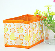 Nylon Waterproof  Orange Normal 1 Cosmetic Bag