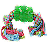 Dog Toy Pet Toys Teeth Cleaning Toy Rope Rubber