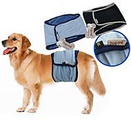 Собака Брюки Одежда для собак На каждый день Сплошной цвет Черный Синий