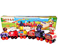 Magnet Toys Educational Toy Car Toys Wood Rainbow Model & Building Toy