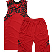 Sports Men's Sleeveless Leisure Sports / Badminton / Basketball / Running Clothing Sets/Suits Baggy Shorts Breathable / Quick DryXS / L /