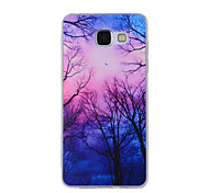 For Samsung Galaxy A8(2016) A8 A7 A5 A3 A510 A310 Case Cover Duskwood Painted Pattern TPU Material Phone Case