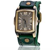 Vintage Cow Leather Bracelet Men WristWatch Casual Luxury Quartz Watch Relogio Masculino Clock Hours