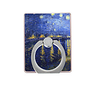 картина маслом картина пластиковый держатель кольца / 360 вращающийся для мобильного телефона iphone 8 7 samsung galaxy s8 s7