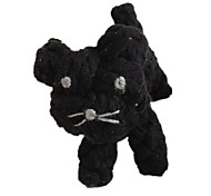 Cat / Dog Pet Toys Chew Toy / Teeth Cleaning Toy Rope / Woven / Cat Black Textile