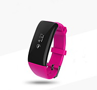 Smart BraceletWater Resistant/Waterproof / Long Standby / Pedometers / Health Care / Sports / Heart Rate Monitor / Touch Screen /